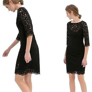 Zara Lace Cocktail Dress.